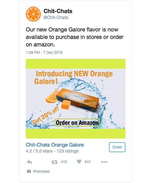 Ad for artisan Gum design.